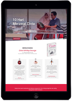 Sekolah Website iPad
