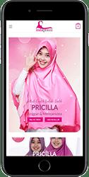 Sekolah Website iPhone