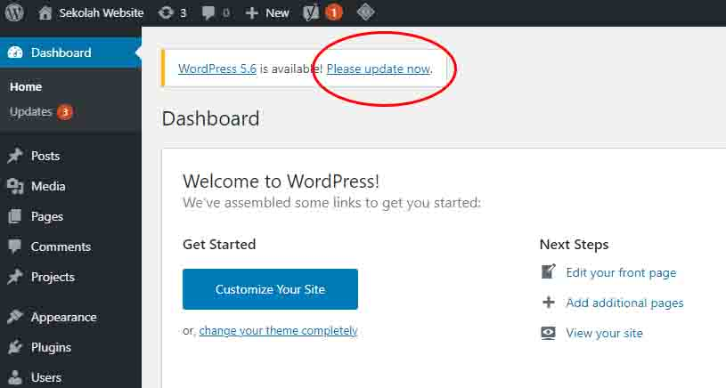 mengapa harus update wordpress